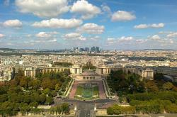 The gardens of the trocadero